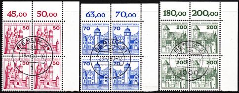 540 Postfrisch Seien Sie Im Design Neu Briefmarken Berlin Paar Minr. Zusammendrucke